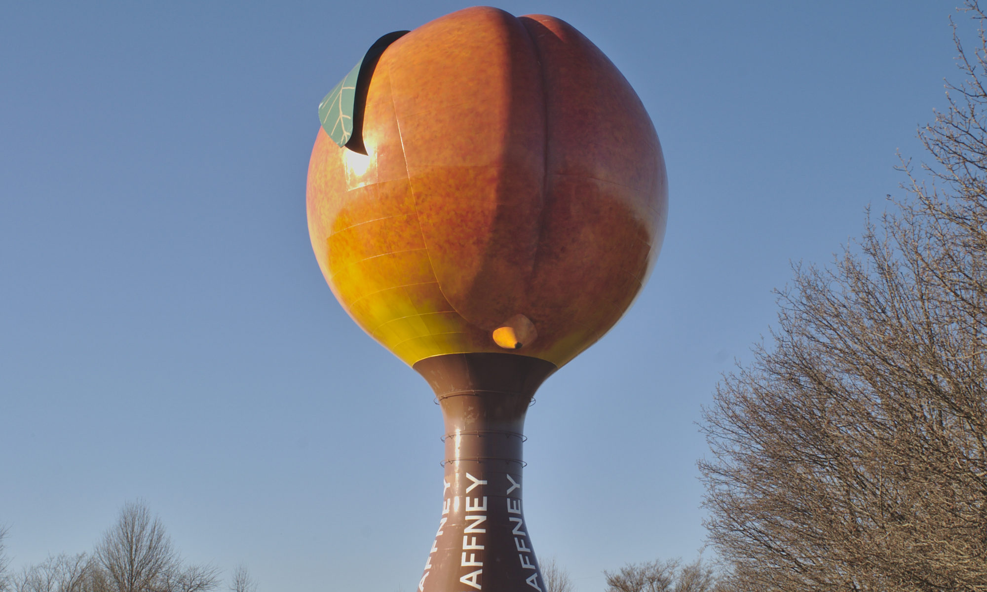 The Peachoid, Gaffney, SC